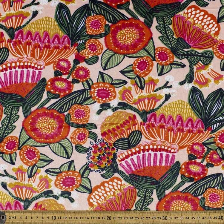 Kirsten Katz Aussie Native Printed 148 cm Minky Fleece Fabric