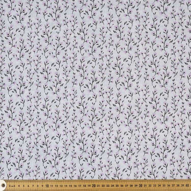 Bells Printed 112 cm Cotton Flannelette Fabric