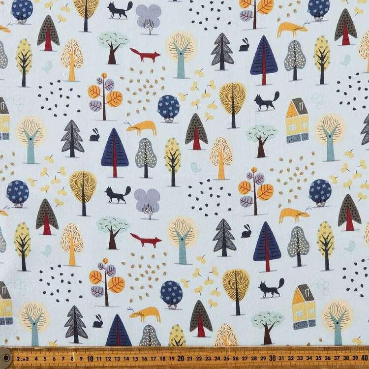 Arbour Printed 112 cm Cotton Flannelette Fabric