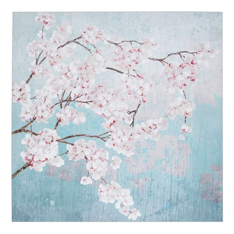 Oriental Fusion Cherry Blossom Canvas Print