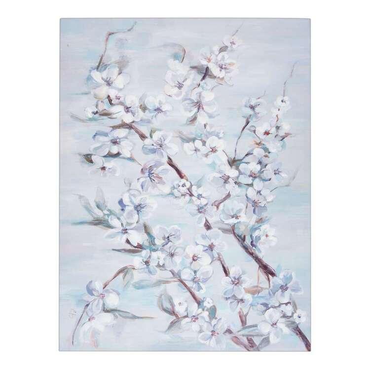 Oriental Fusion Park Blossom Canvas Print