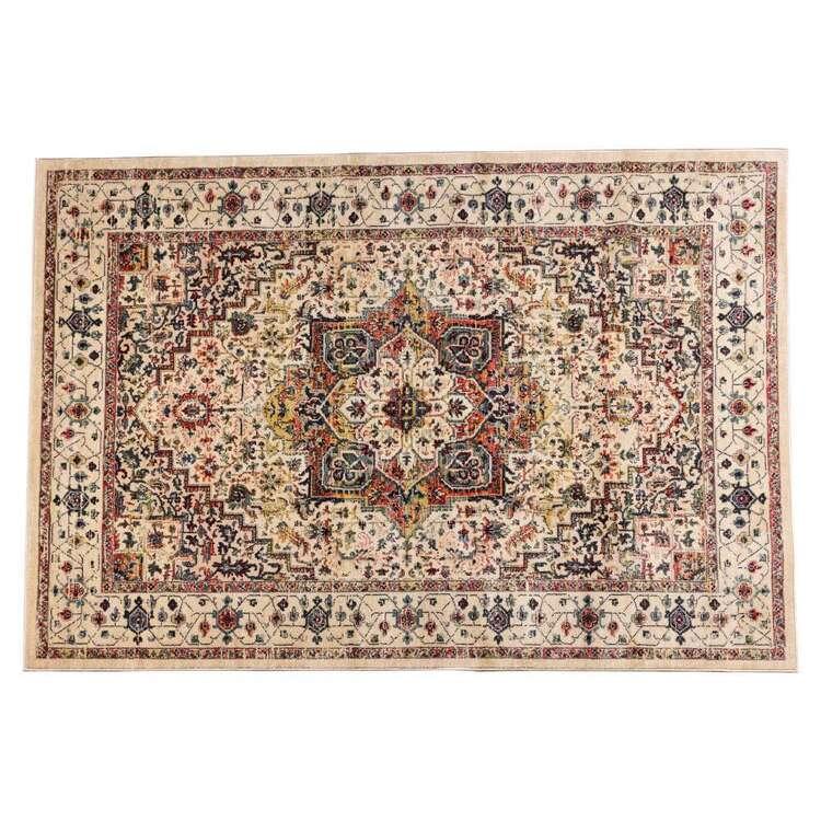 KOO Home Dahlia Woven Polypropylene Floor Rug