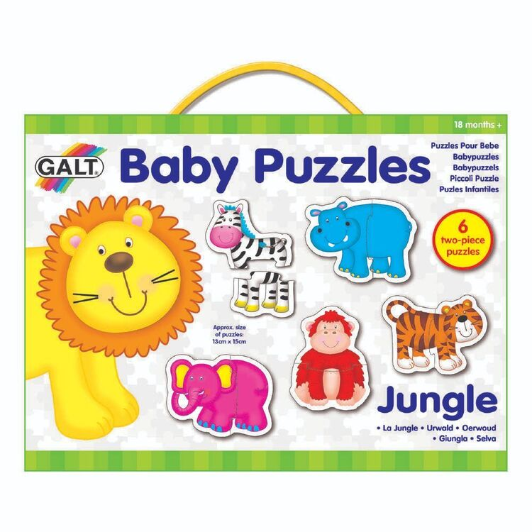 Galt 2 Pieces Jungle Baby Puzzles