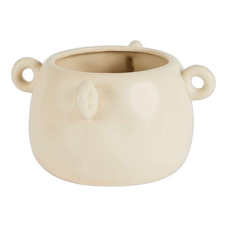 Living Space 10 x 19 cm Ceramic Vase
