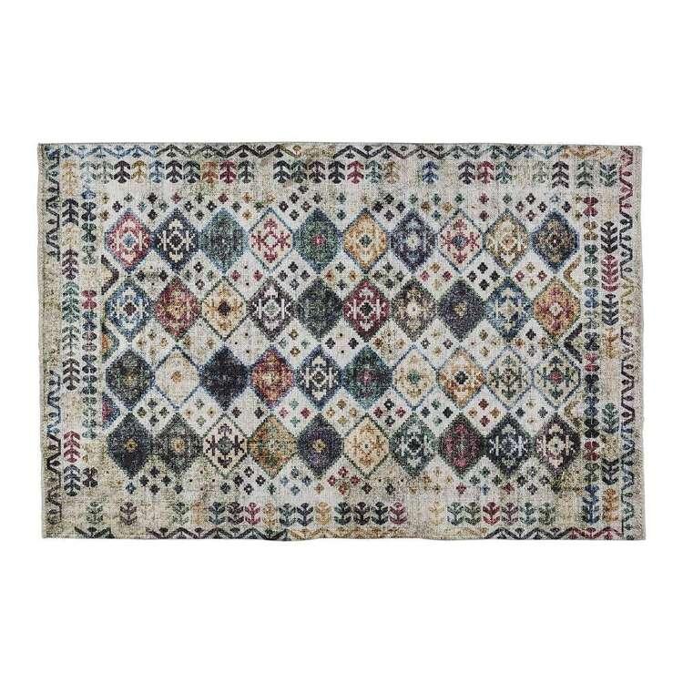 KOO Home Layla Printed Polypropylene Floor Rug