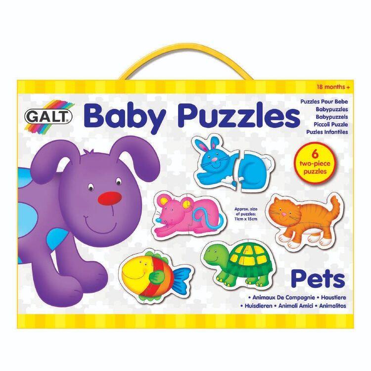 Galt 2 Pieces Pets Baby Puzzles
