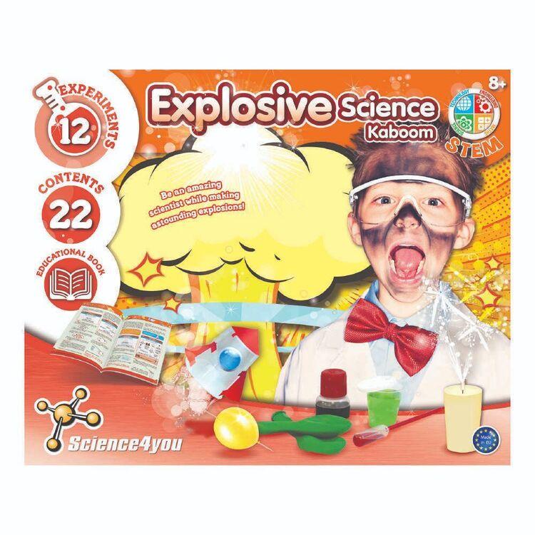 Science 4 You Kaboom Explosive Science Kit