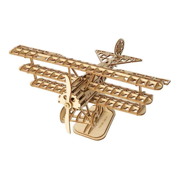 Robotime Bi-Plane 3D Puzzle