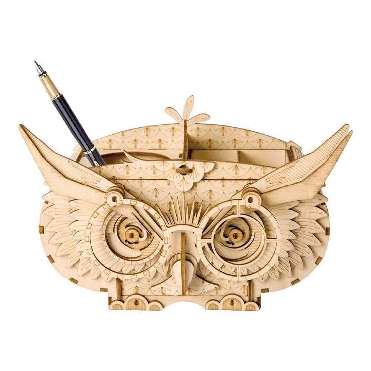 Robotime Owl Storage Box 3D Puzzle