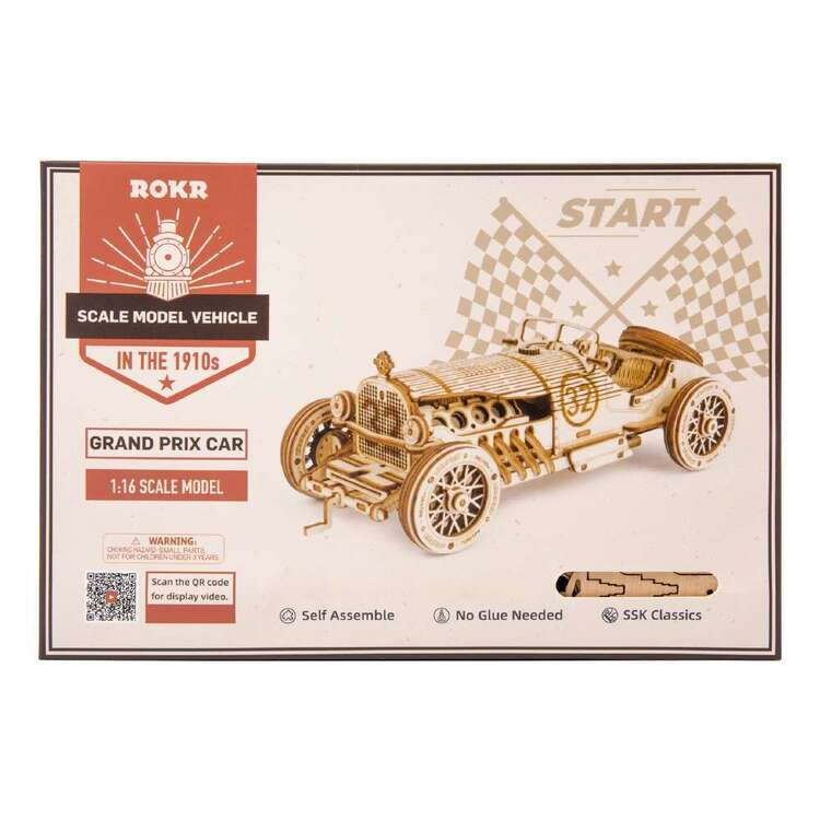 Robotime Grand Prix Car Scale Model