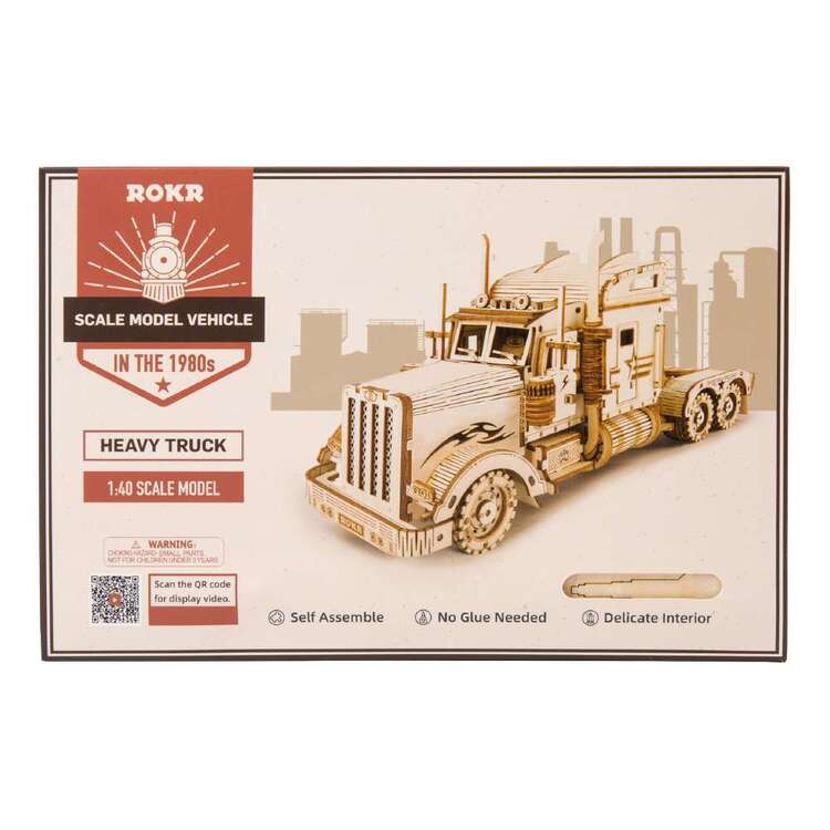 Robotime Heavy Truck Scale Model