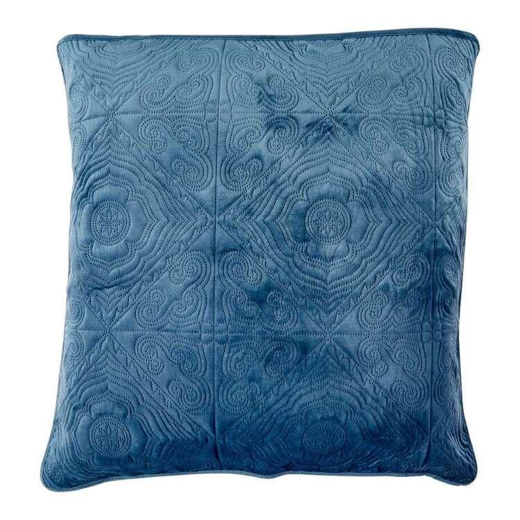 KOO Diamond Velvet Quilted European Pillowcase