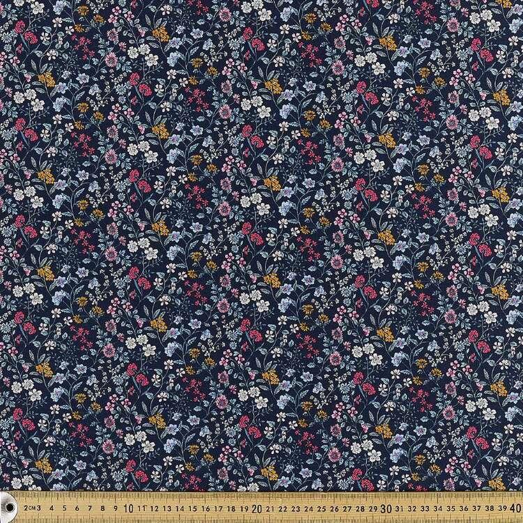 Oriental Maze Printed 112 cm Japanese Cotton Poplin Fabric