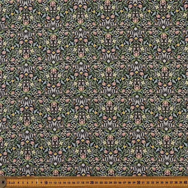 Mirrored Printed 112 cm Japanese Cotton Poplin Fabric
