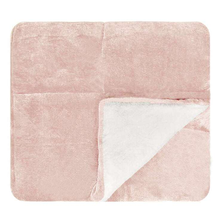 Ombre Home Bloom Fields Sherpa Throw