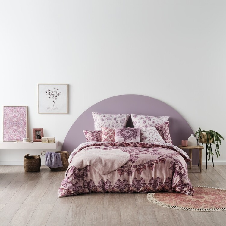 Ombre Home Bloom Fields Amayra Quilt Cover Set
