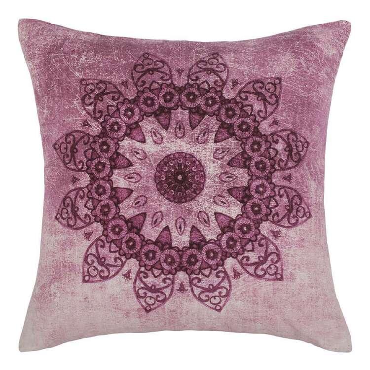 Ombre Home Bloom Fields Mandala Cushion