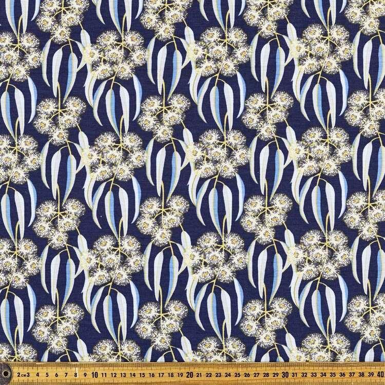 Jocelyn Proust Tasmanian Blue Gum Printed 148 cm Rayon Elastane Knit Fabric
