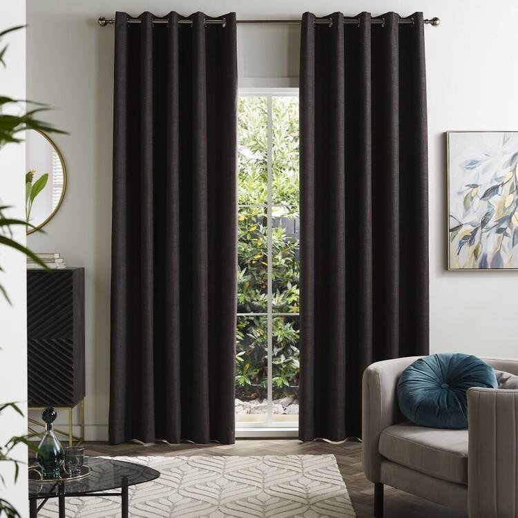 KOO Lena Blockout Eyelet Curtains