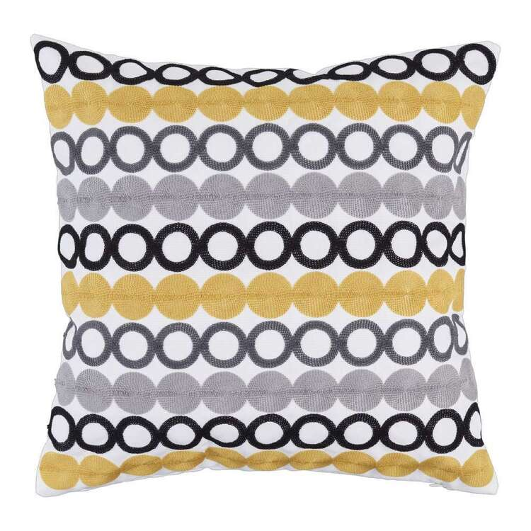 Koo Circal Embroidered Cushion