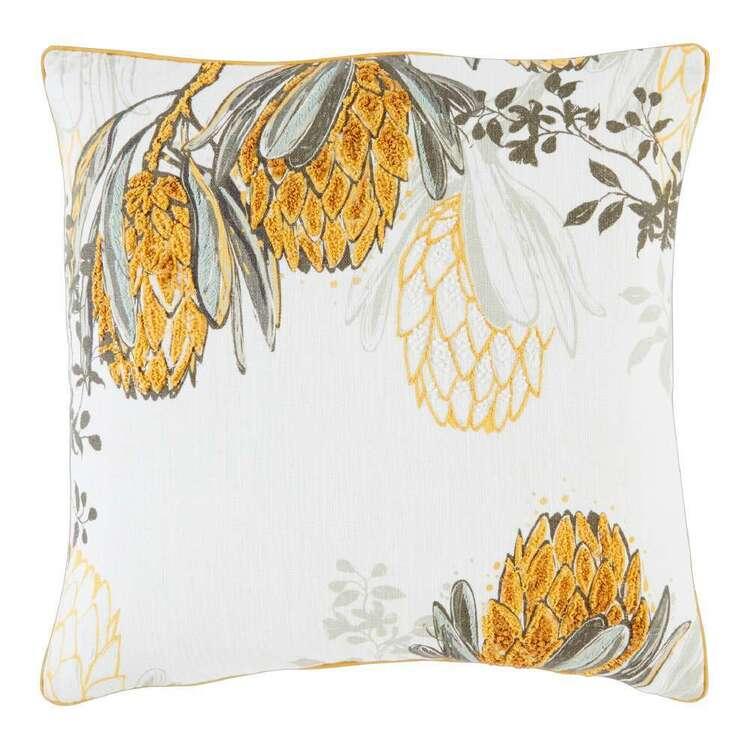 Logan & Mason Home Matilda Embroidered Cushion