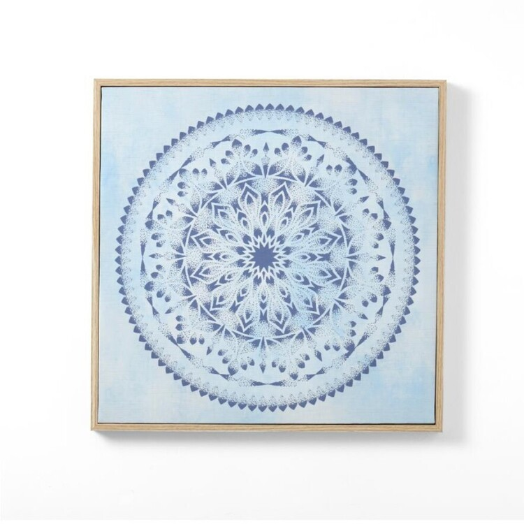 Ombre Home Bohemian Bliss Mandala Wall Art