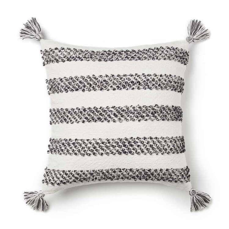 Logan & Mason Venice Loop Embroidered Cushion