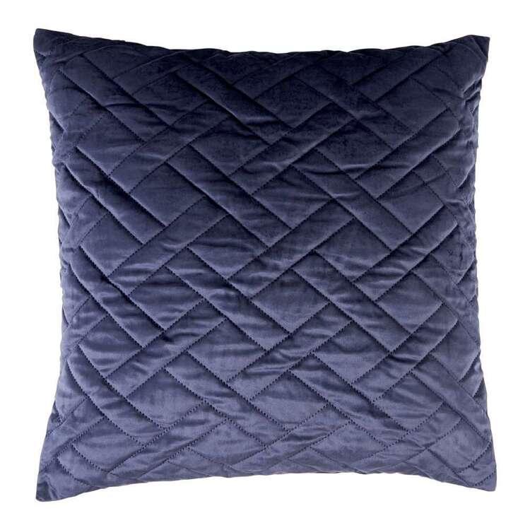 KOO Sonia Velvet Quilted European Pillowcase