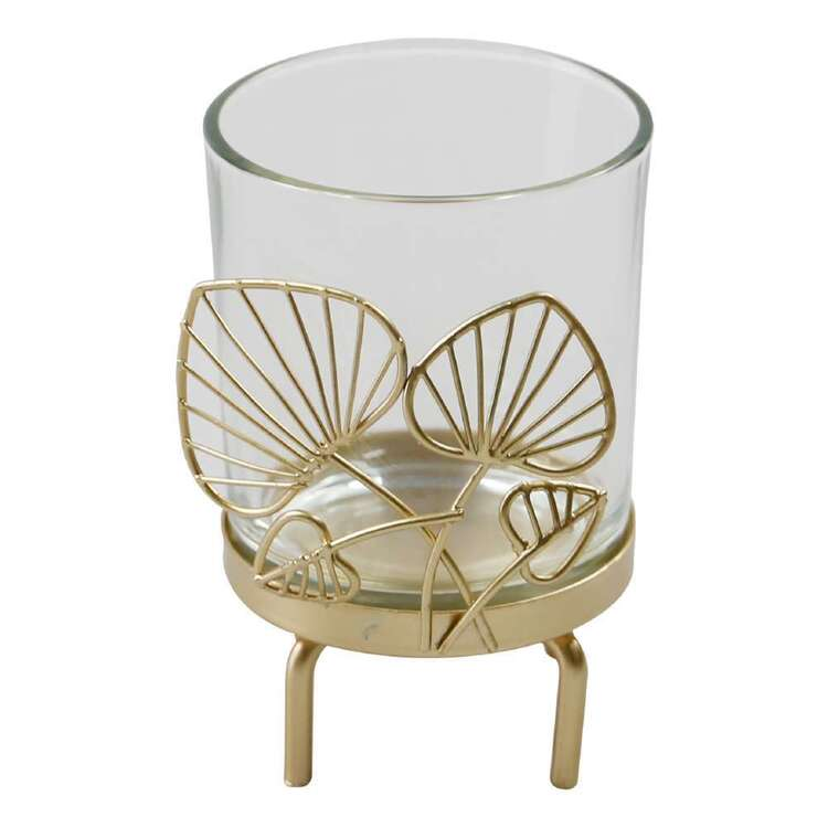 Ombre Home Bloom Fields Leaf Candle Holder