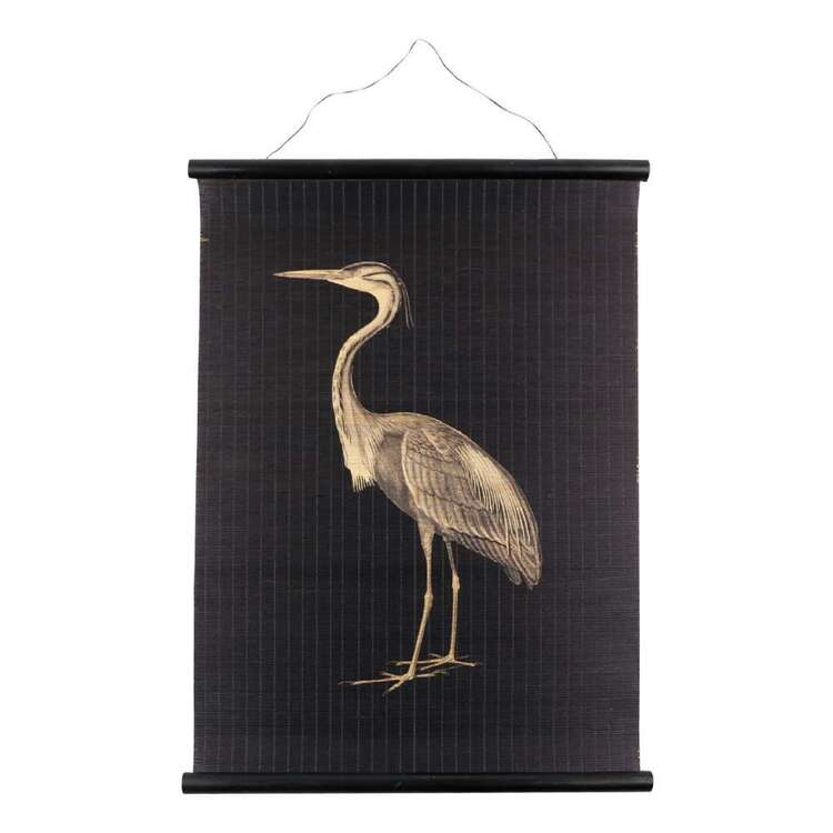 Ombre Home Bloom Fields Crane Wall Hanging