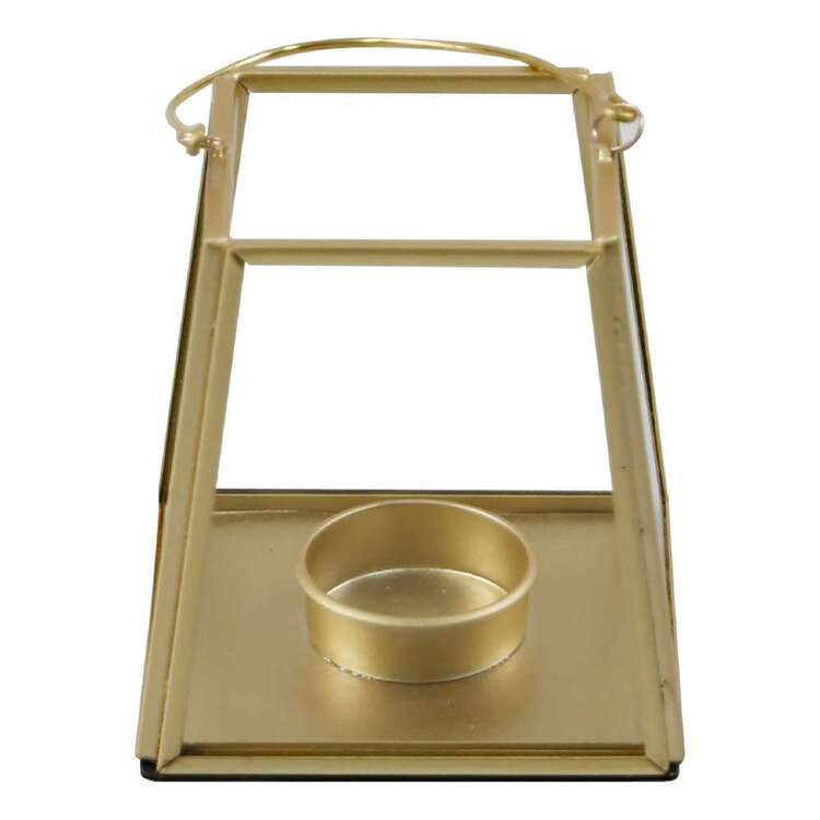 Ombre Home Bloom Fields Gold Tealight Holder