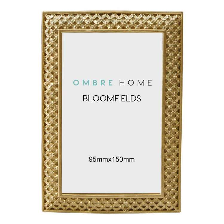 Ombre Home Bloom Fields 12 x 18 cm Metal Photo Frame