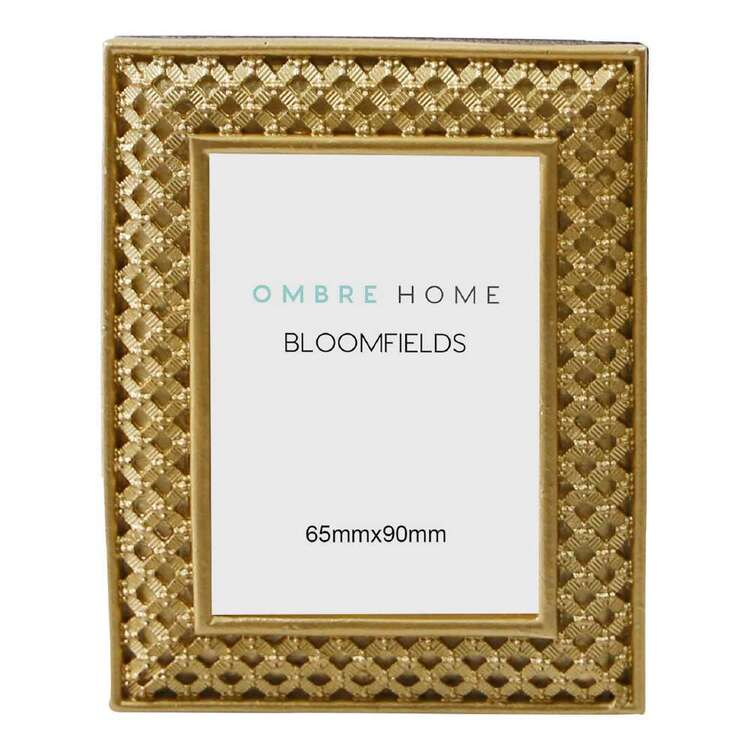 Ombre Home Bloom Fields 9 x 12 cm Metal Photo Frame