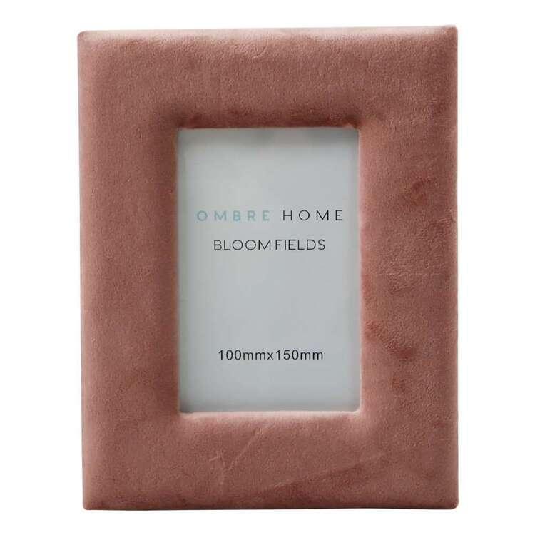 Ombre Home Bloom Fields Velvet Photo Frame