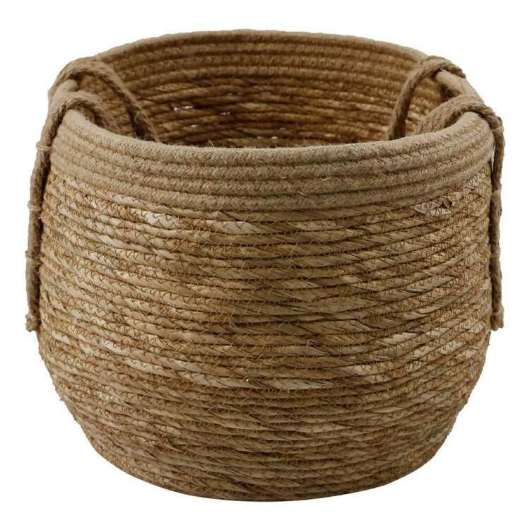 Ombre Home Bloom Fields 31 cm Seagrass Basket