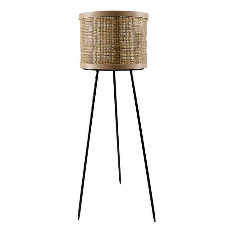 Ombre Home Bloom Fields 80 cm Rattan Basket Planter Stand