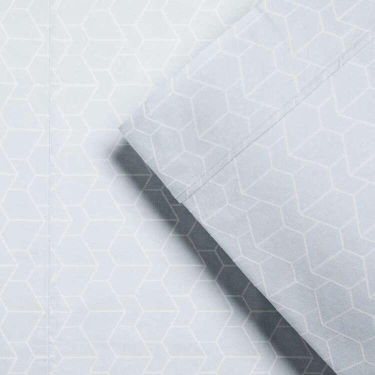 KOO Flannelette Geo Sheet Set