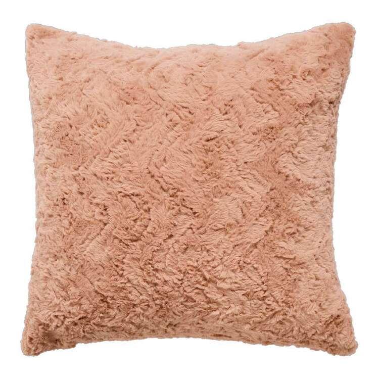 Emerald Hill Faux Fur Karal Cushion