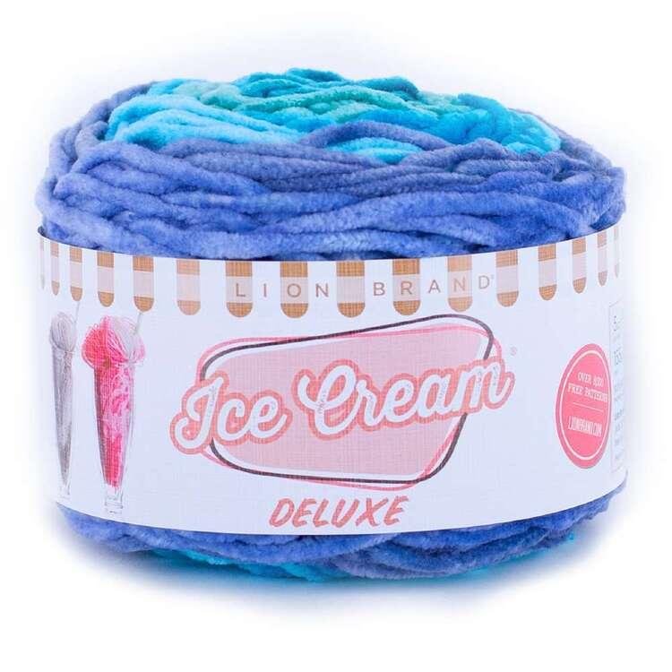 Lionbrand Ice Cream Deluxe 142 g Yarn