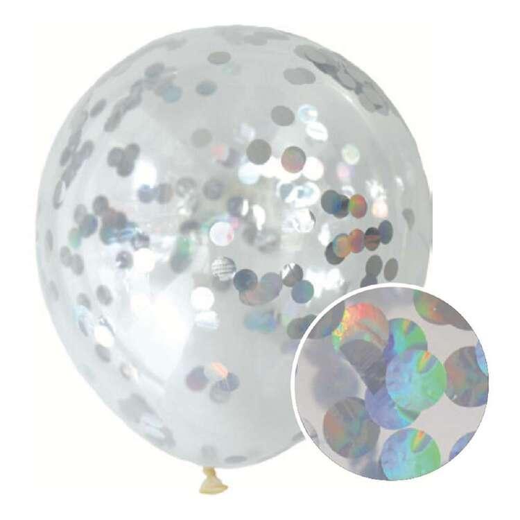 Iridescent Confetti Balloon 3 Pack