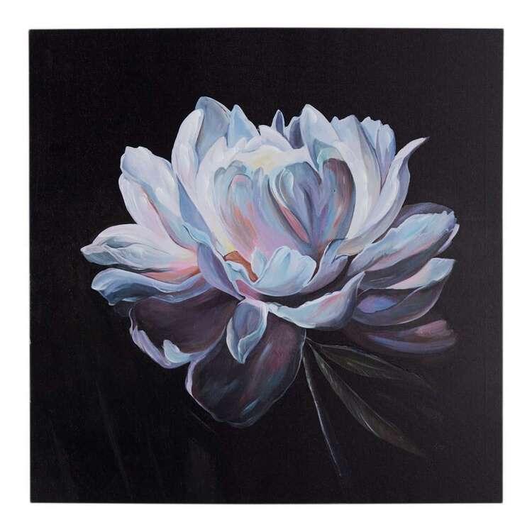 Luxe Illusions Fluorescent Flora Canvas Print
