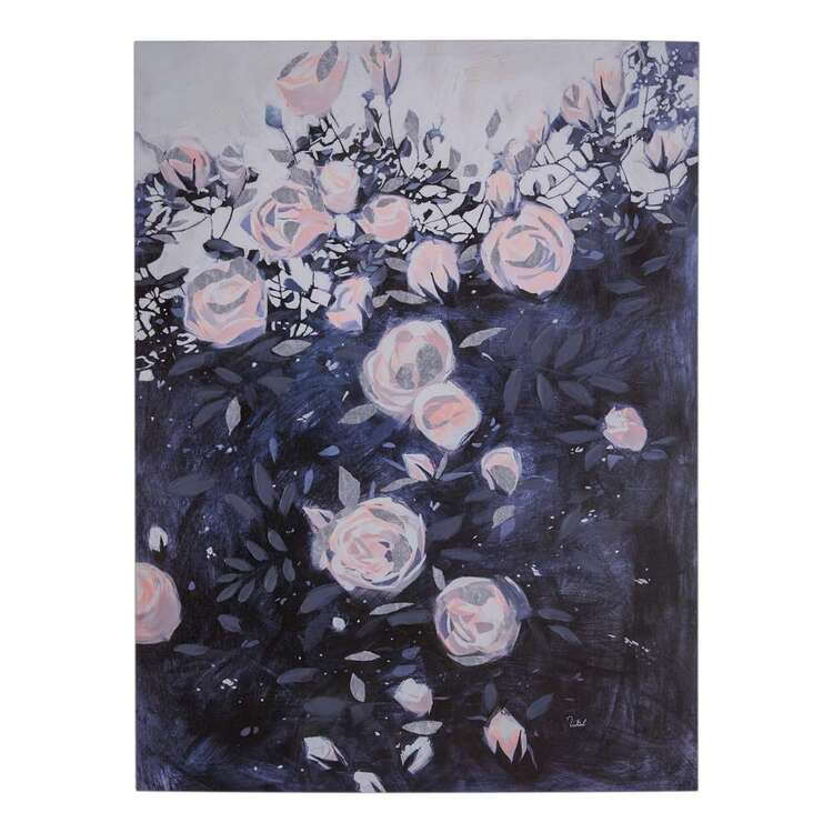 Luxe Illusions Painted Garden Canvas Print
