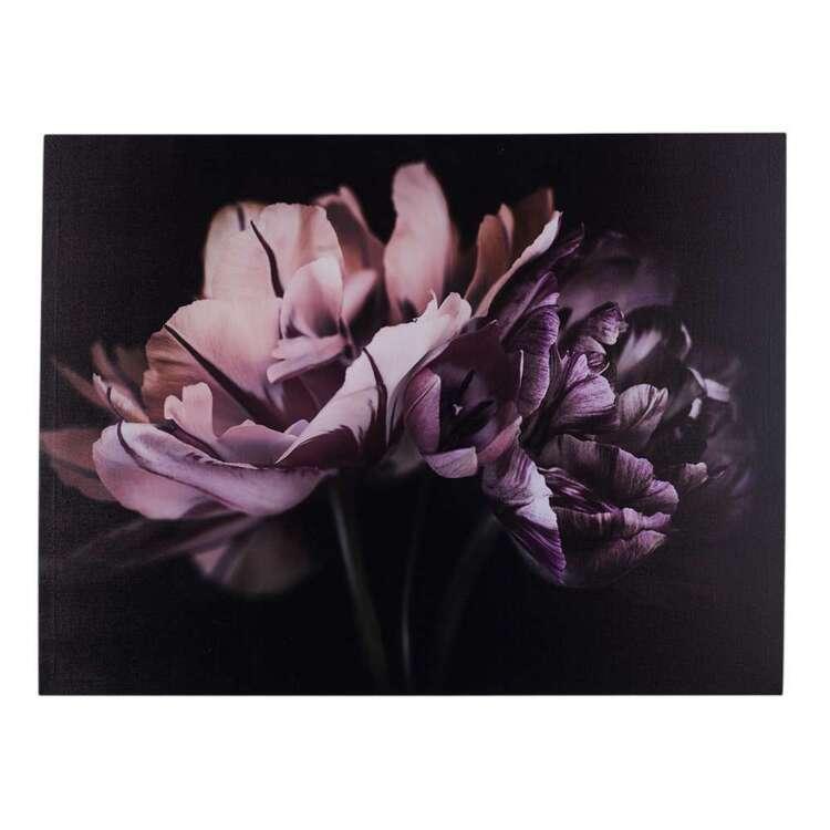 Luxe Illusions Purple Romance Canvas Print
