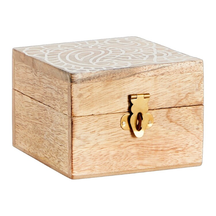 Ombre Home Bohemian Bliss Mandala Trinket Box