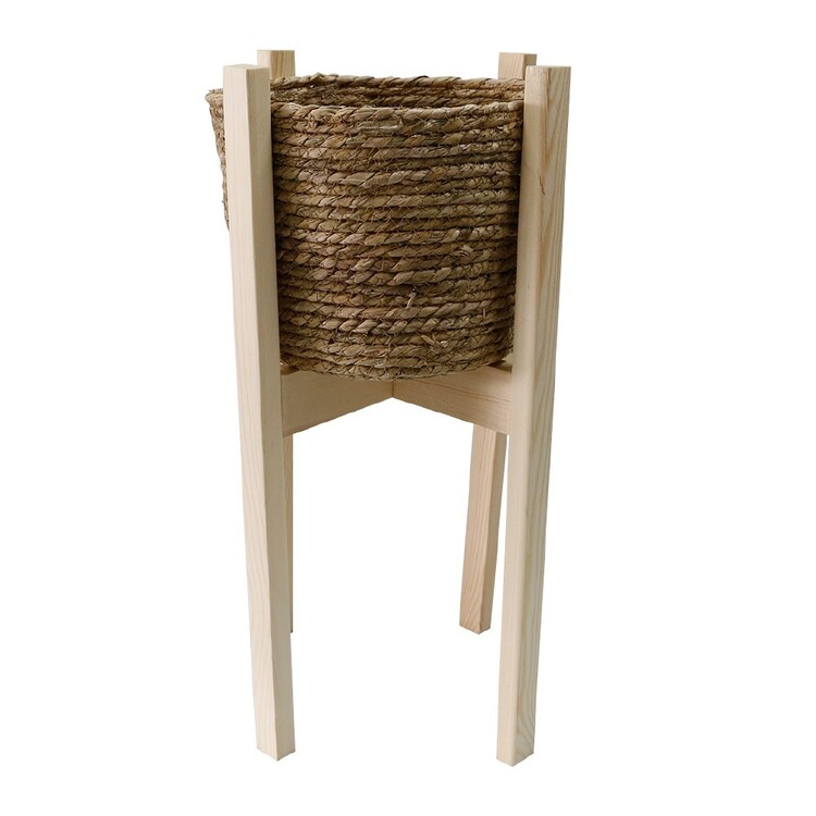 Ombre Home Weathered Coastal Planter Stand