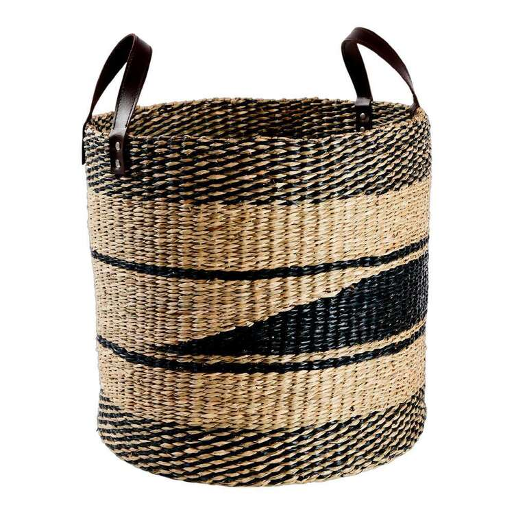 Living Space Seagrass Round Basket