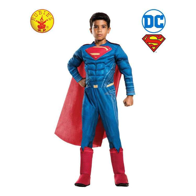 DC Comics Luxe Superman Child Muscle Costume