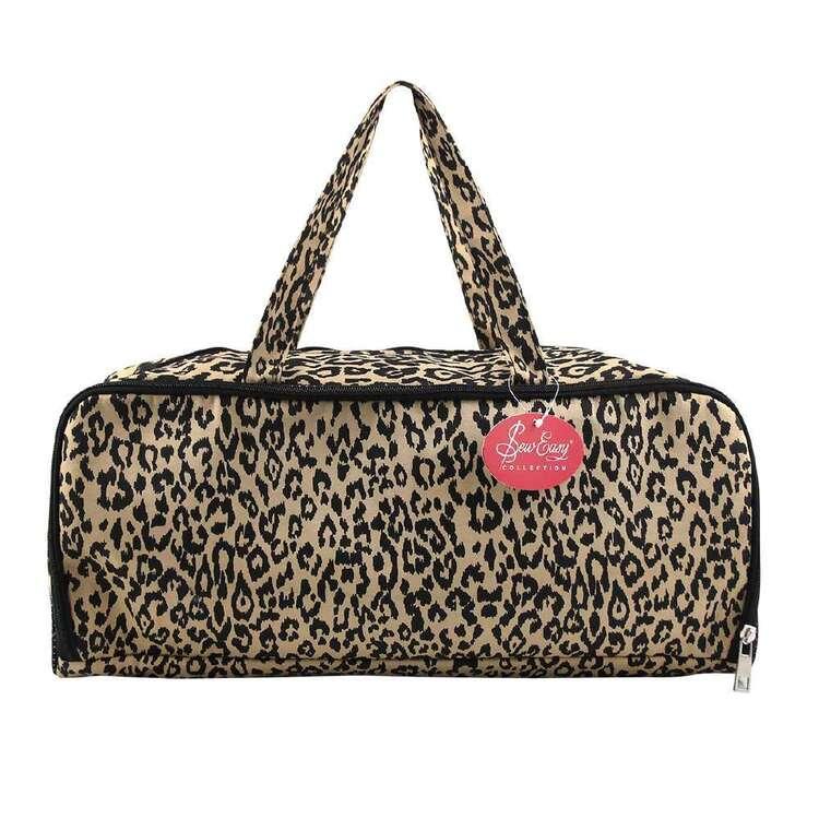 Sew Easy Leopard Knitting Bag & Needle Storage