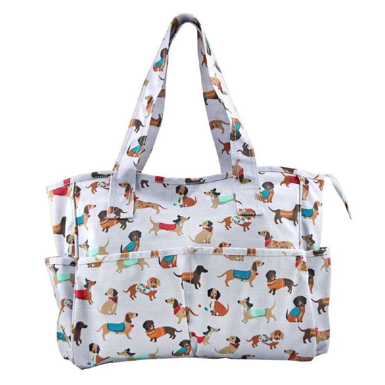Sew Easy Sausage Dog Knitting Bag