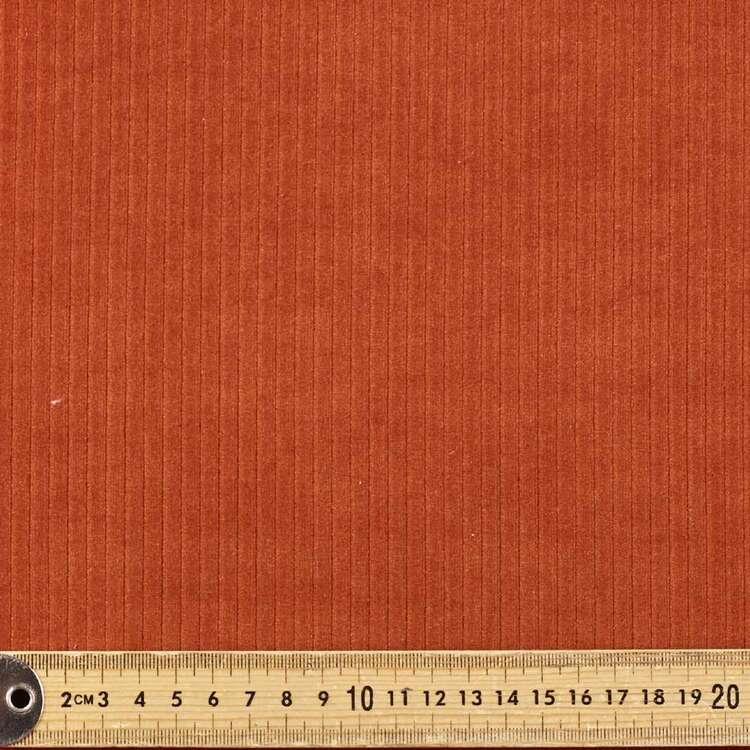 Plain 270 gsm Stretch Velour Cord Fabric